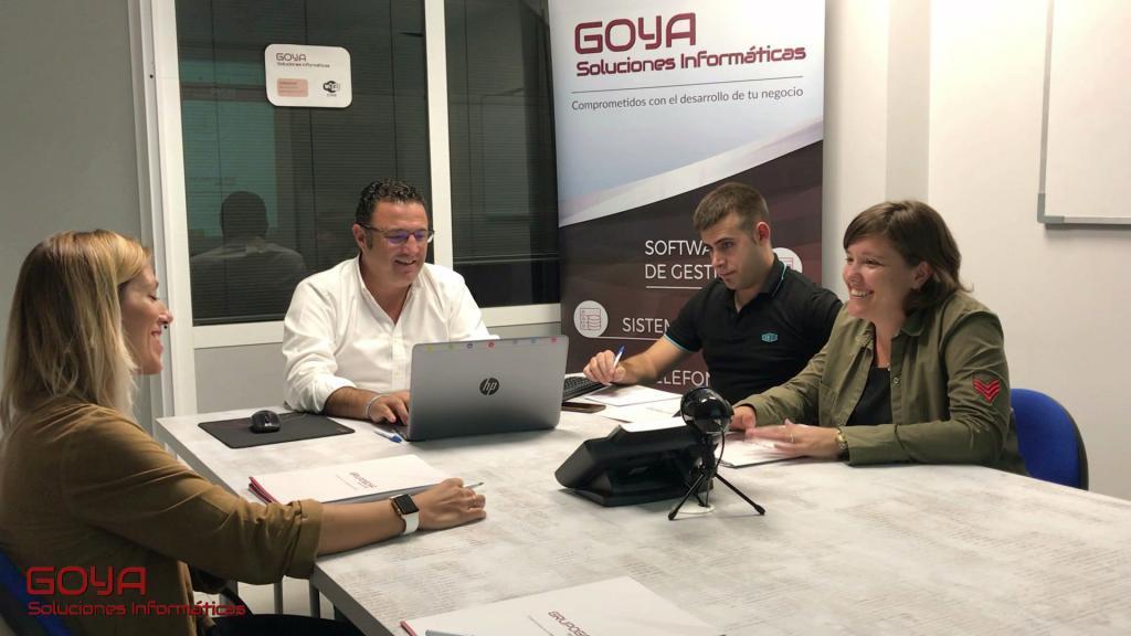 Equipo de Goya Soluciones