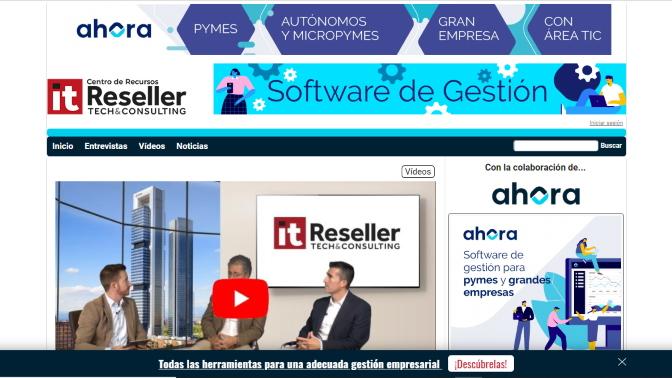 IT Reseller y AHORA han lanzado un Centro de Recursos sobre Sofware de Gestión.